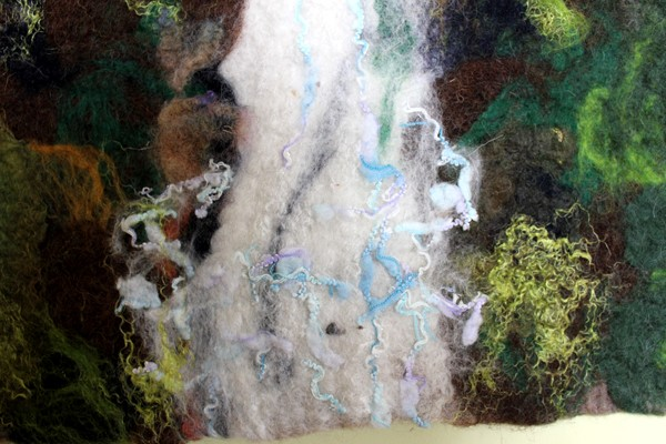 Vyrnwy waterfall detail 1