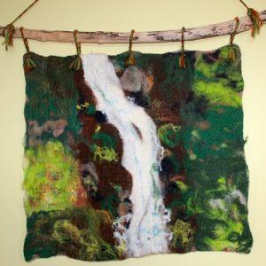 Vyrnwy waterfall