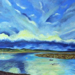 Evening, Dyfi estuary