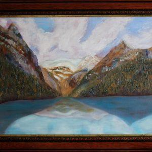 Lake Louise, Alberta framed