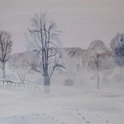 Winter's morning original
